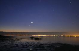 congiunzione pianeti giove e venere